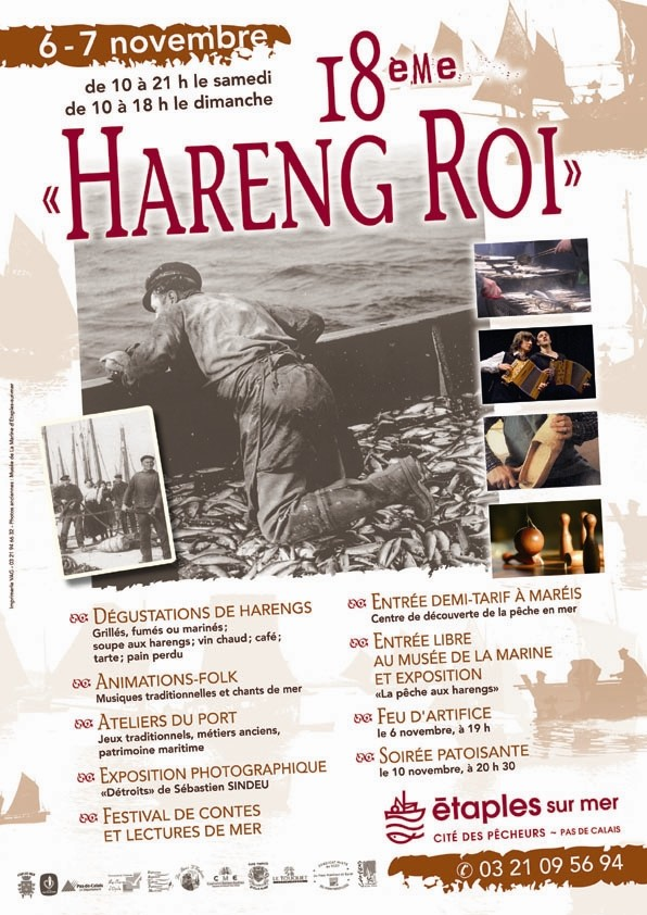 """Les AGV à la fête du """"Hareng-Roi"""" à Etaples sur mer Affich10"""