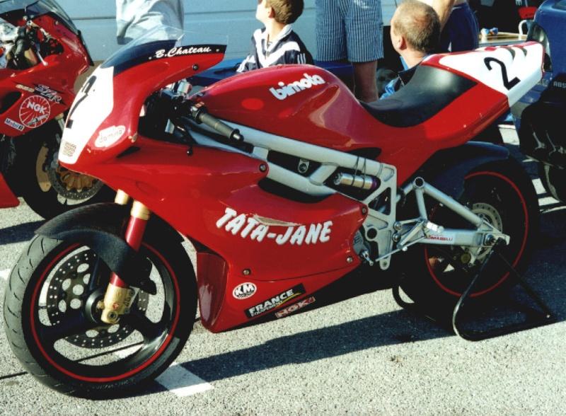MONOS DE COURSE : Yam SZR, SR, BB1, Ducati, Gilera etc... Bb1210