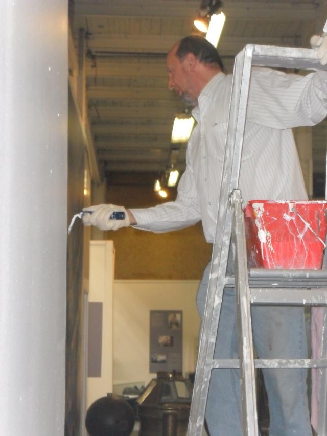 Préparation du département Marine en vue de l'expo. Sam_0114