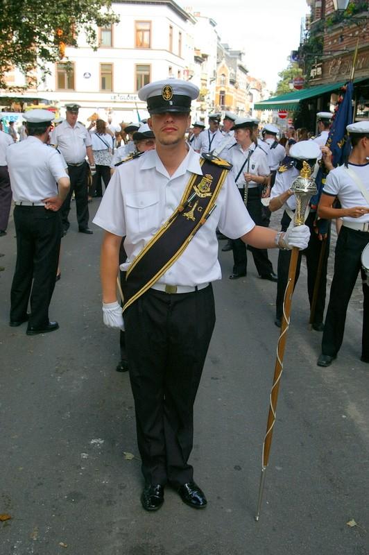La musique des Cadets de la Marine de Liège Sg1l0510