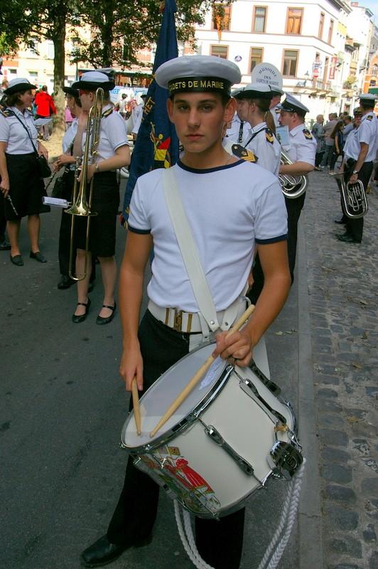 La musique des Cadets de la Marine de Liège Sg1l0512
