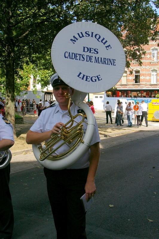 La musique des Cadets de la Marine de Liège Sg1l0515