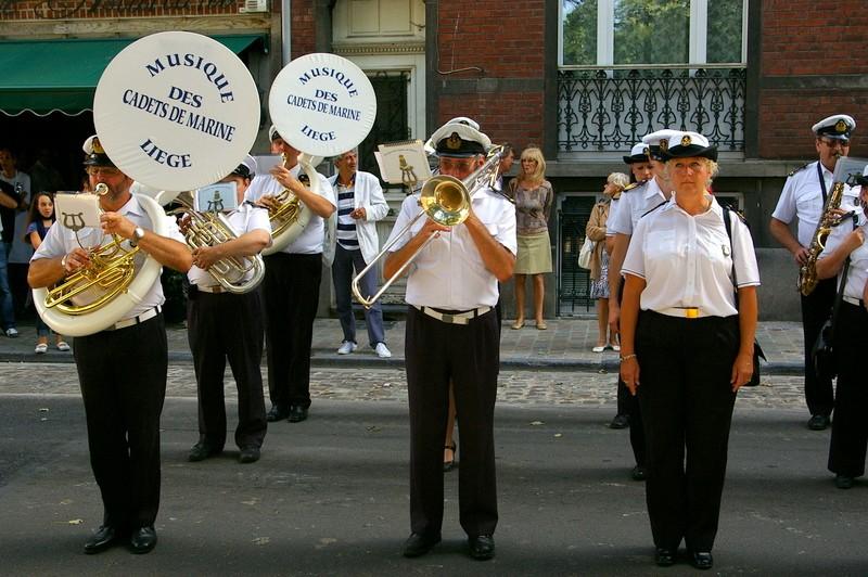 La musique des Cadets de la Marine de Liège Sg1l0518