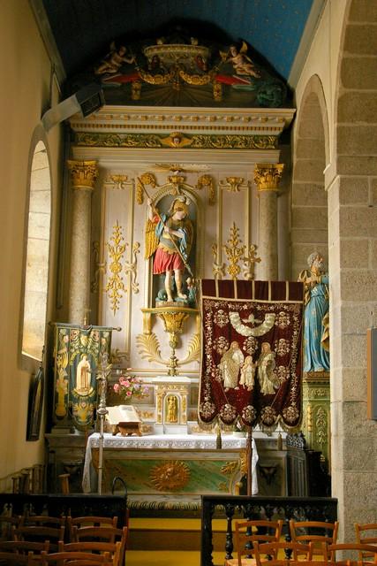 L'église de Ploumoguer (pays d'Iroise, Bretagne) Sg1l4912