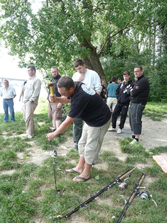 Initiation pêche pour la fédération de Pêche de l'Ardèche Bassin30