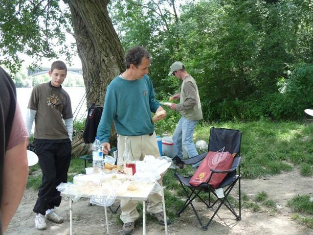 Initiation pêche pour la fédération de Pêche de l'Ardèche Bassin35