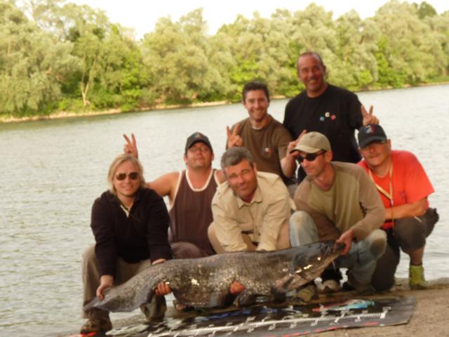 Initiation pêche pour la fédération de Pêche de l'Ardèche Bassin40