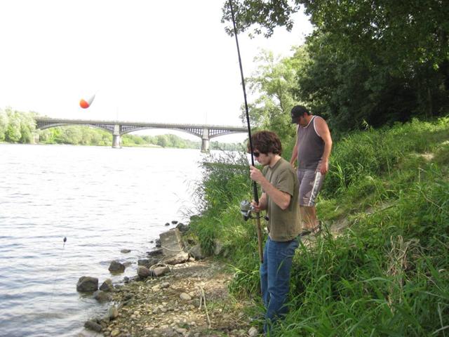 Initiation pêche pour la fédération de Pêche de l'Ardèche Img_7613