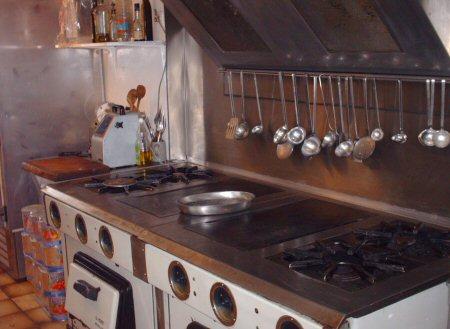 the kitchen Hpim4411