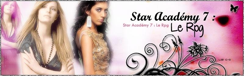 .::. Star Académy 7 : Le Rpg .::.