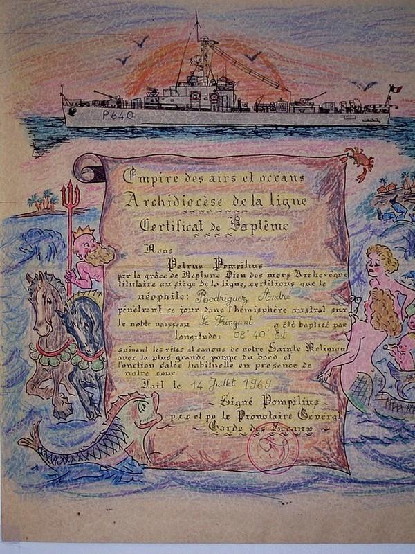 [ Les traditions dans la Marine ] LE PASSAGE DE LA LIGNE - ÉQUATEUR (Sujet unique) - Page 4 Photo10