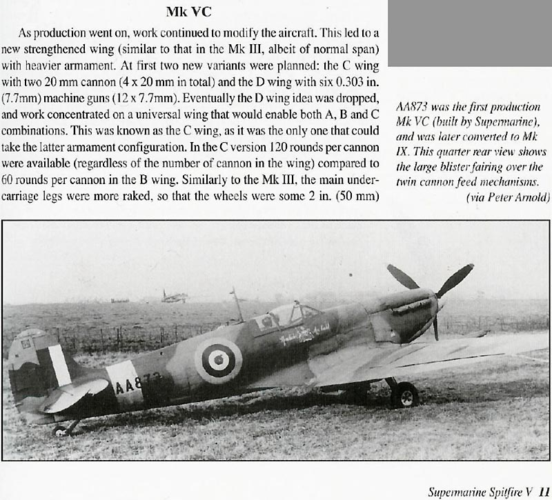 Spitfire Mk Vc Spit5c10