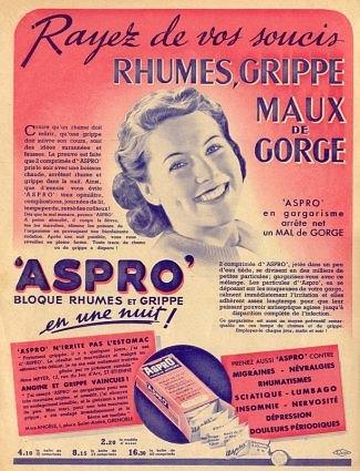 AFFICHES PUB ET PRODUITS DE NOTRE ENFANCE AU MAROC Aspro110
