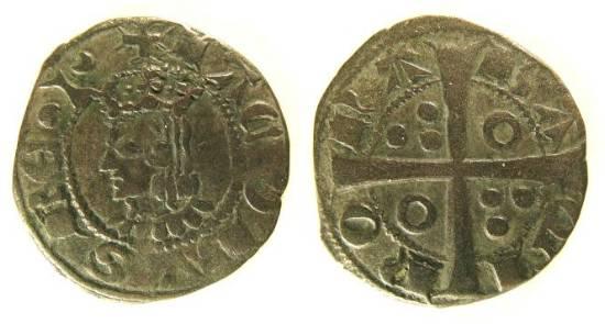 Dinero de Jaime II (Barcelona, 1291 - 1327 d.C) Jaume_10