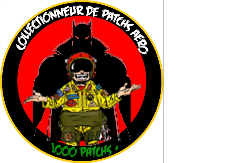 "Patch ""Collectionneur 100 patch +"" Projet11"
