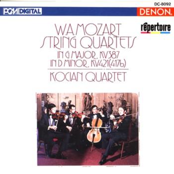 Mozart: quatuors à cordes dédiés à Haydn Kocian10