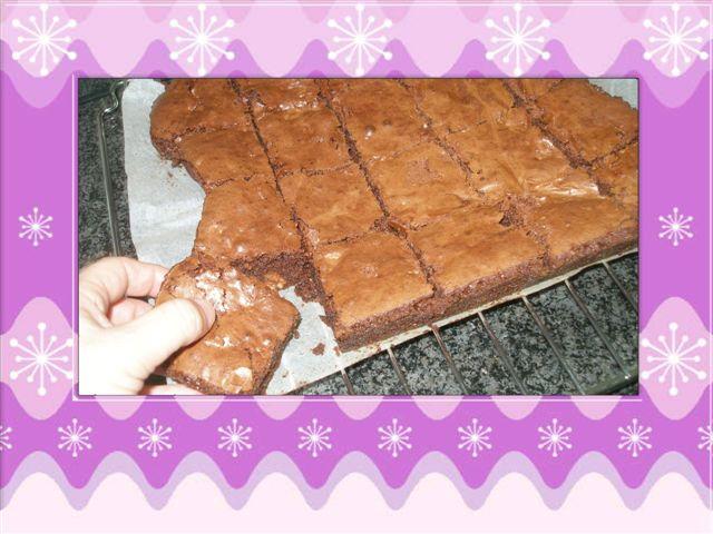 Brownies au Chocolat P8092711