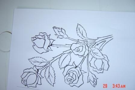 لعيونكم طريقة الرسم على الزجاج بالتفصيل 1ir42511