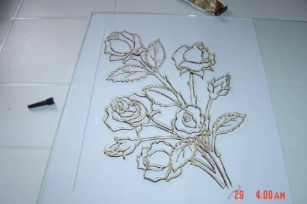 لعيونكم طريقة الرسم على الزجاج بالتفصيل Wij42910