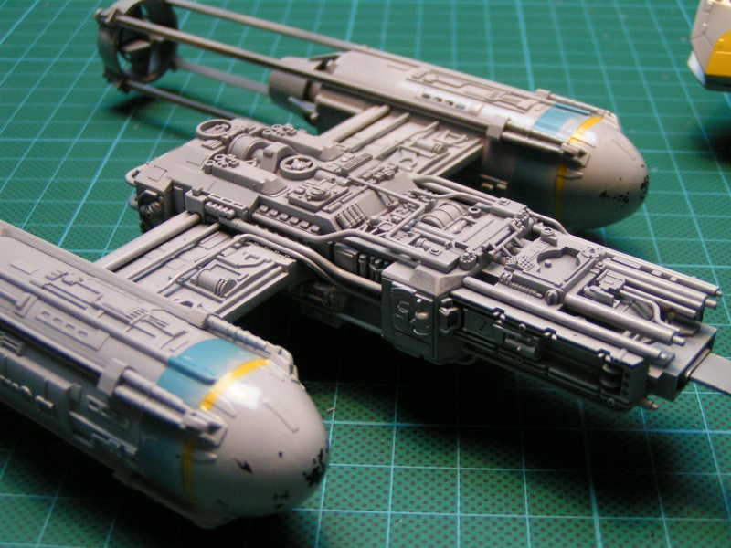 y-wing finemolds 1/72 FINI le 11/11 Y-wing13