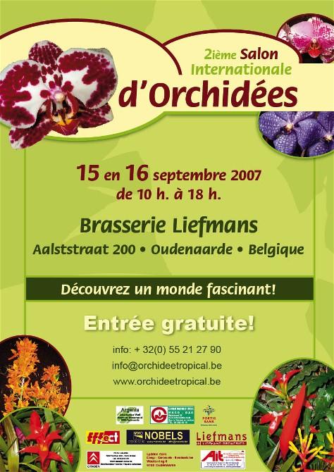2ème salon international d'orchidées à Oudenaarde Oudena10