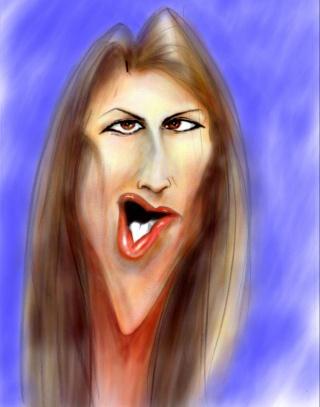 CARICATURES de personnalitées - Page 4 Celine12