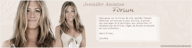 Jennifer Aniston Forum