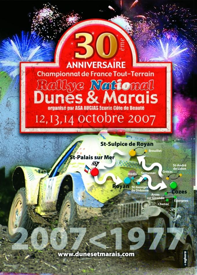dunes - Affiche du 30 ème Dunes et marais Fond_a10