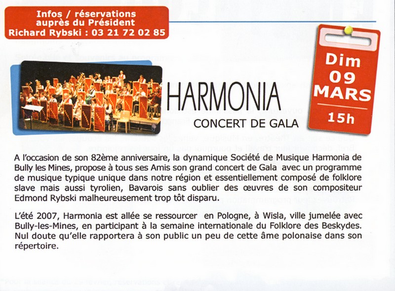 Agenda des Représentations Folkloriques Saison 2007 - 2008 Harmon10
