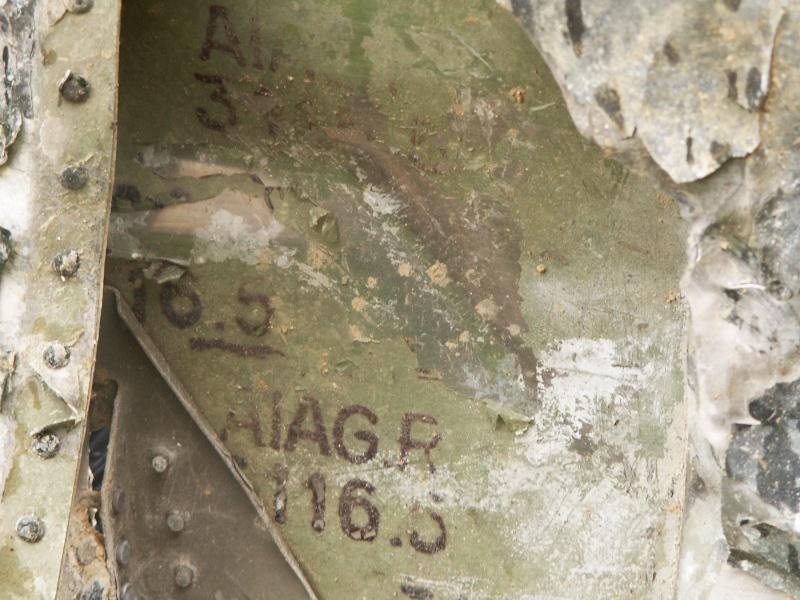 Identification de pièces d'avion A110