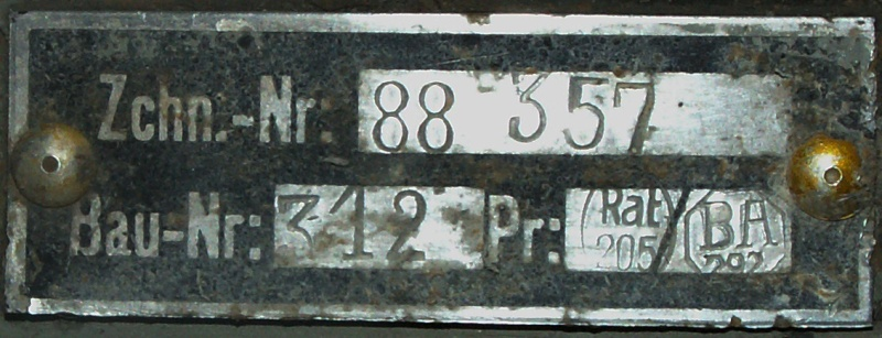 Identification de pièces d'avion A610