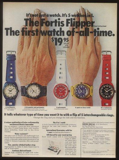 Enicar - Un post qui référence les montres de brocante... tome I - Page 21 Fortis12