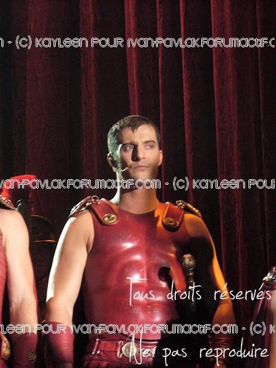 Cléopâtre : Ivan en Brutus P1090810