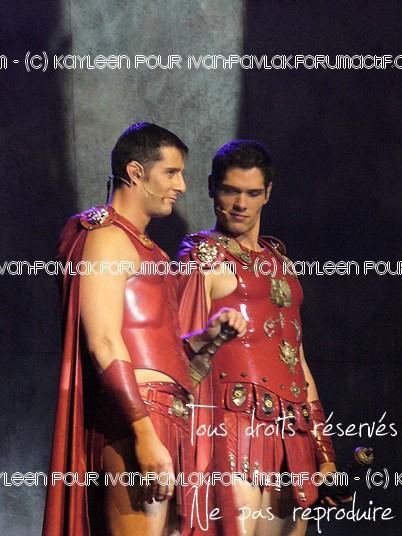 Cléopâtre : Ivan en Brutus P1090812