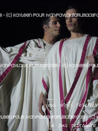 Cléopâtre : Ivan en Brutus P1090816
