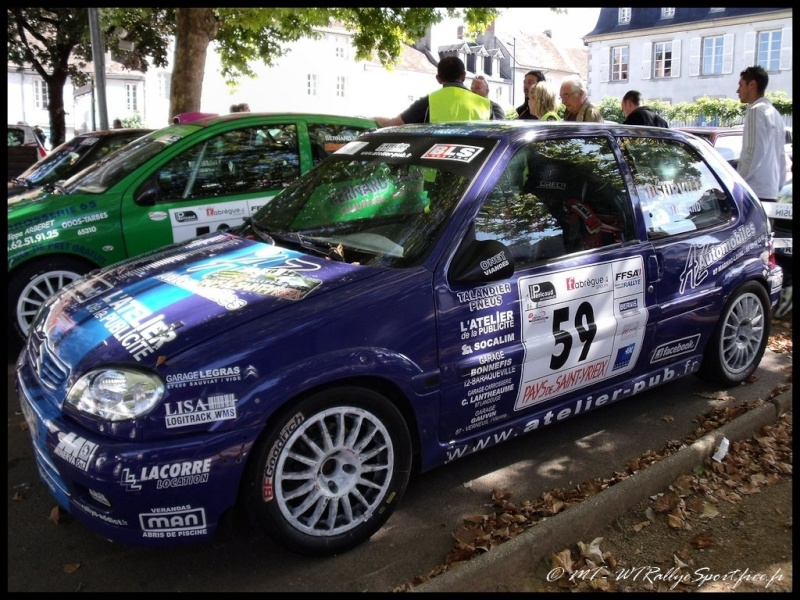 Laurent SURVILLE / Alexandra GRAND - CITROEN Saxo A6 Wtrs-s47