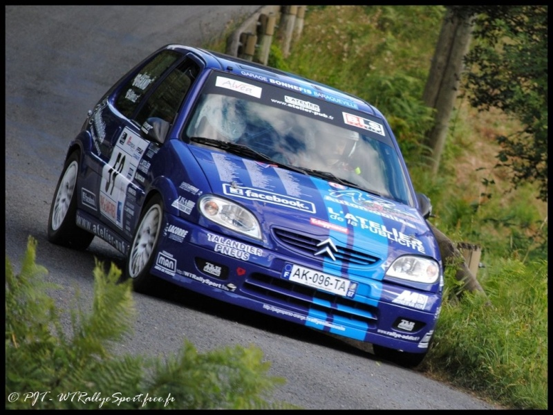 Laurent SURVILLE / Alexandra GRAND - CITROEN Saxo A6 Wtrs-s48