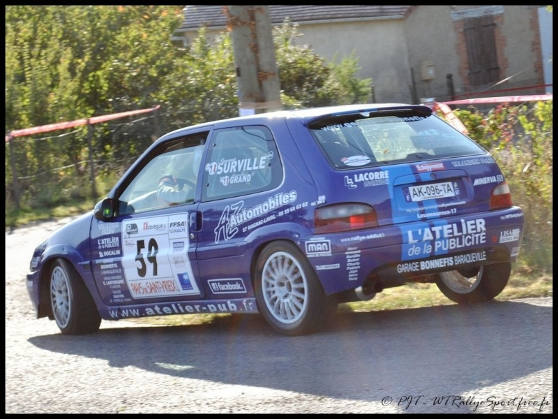 Laurent SURVILLE / Alexandra GRAND - CITROEN Saxo A6 Wtrs-s49