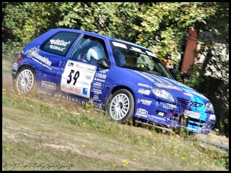 Laurent SURVILLE / Alexandra GRAND - CITROEN Saxo A6 Wtrs-s50
