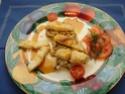 Bouchée de Sandre Rotie au Caramel de Vinaigre,Risotto P1016010