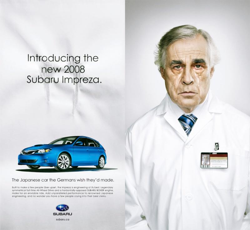 Deux publicités qui m'interpellent... Subaru10