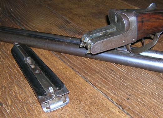 Abattre les chiens manuellement sur un juxta hammerless 01910