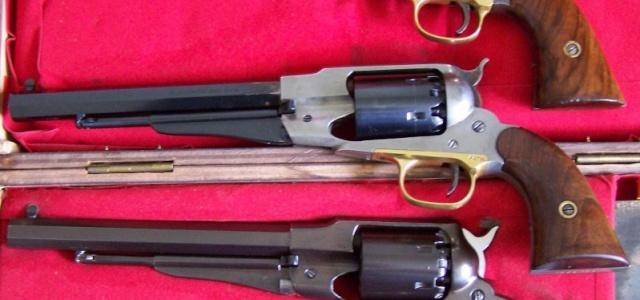 Bronzage à froid CARTRY sur Remington 1858 (DAMASCUS BROWN) 1depar10