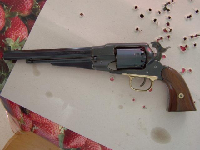 Bronzage à froid CARTRY sur Remington 1858 (DAMASCUS BROWN) Finalf11