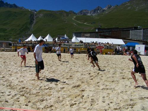 Tignes beach Rugby 2007 100_1114