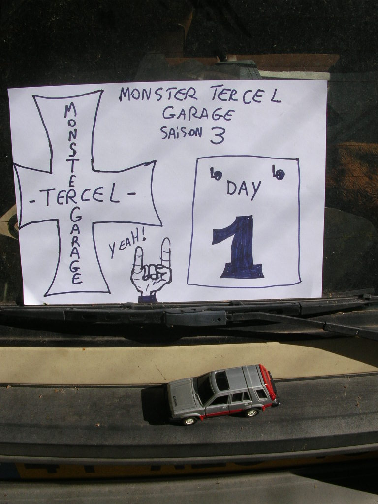 MONSTER TERCEL GARAGE Monste35