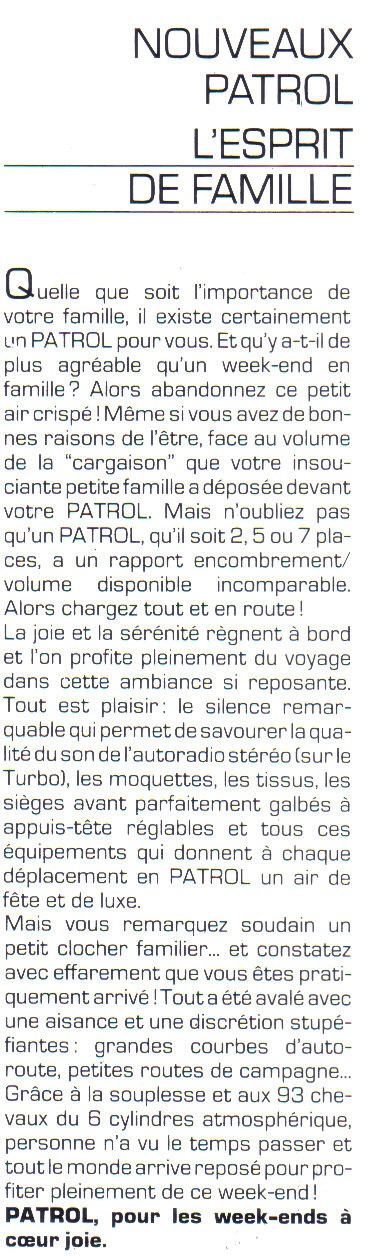 Topic officiel  NISSAN PATROL 2,8L Turbo Diesel Patrol24