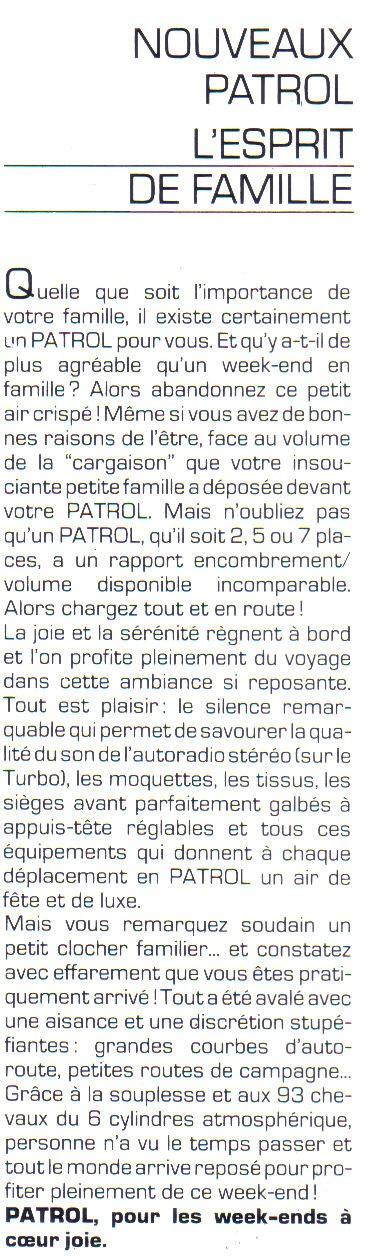 Topic officiel  NISSAN PATROL 2,8L Turbo Diesel Patrol24