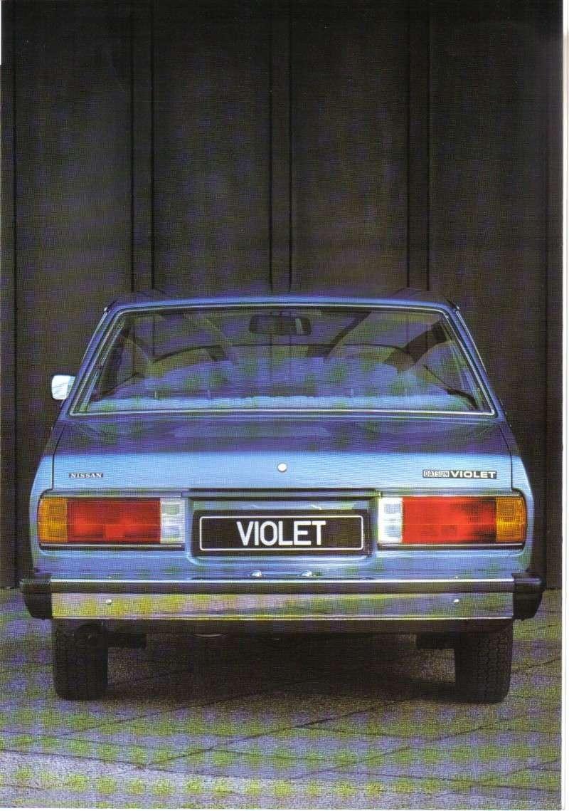 Topic officiel DATSUN VIOLET 140J & 160JSSS type LA10/PA10  Violet11