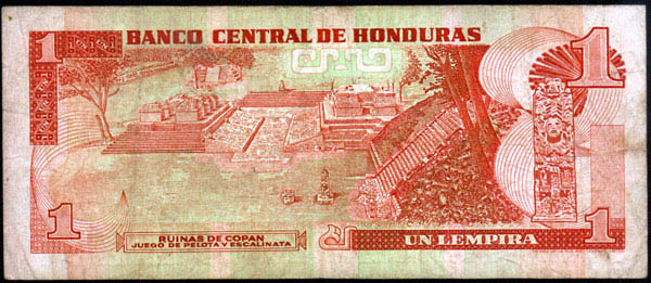 1 Lempira (Honduras, 1994) 1_lemp11